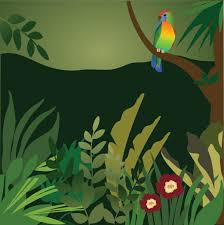 jungle clipart background collection