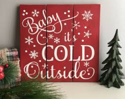christmas signs entertaining and decor etsy