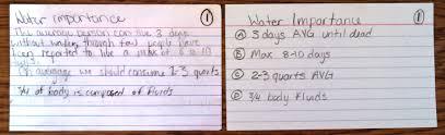 note cards writethinker