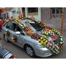 indian wedding car decoration traditional with mix flowers wedding car decoration blooming
