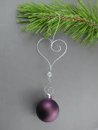 how to make a wire ornament hanger diy ornaments wire ornaments