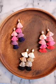 how to make your own clip on earrings diy earring roundup tassel earrings artsy fartsy and tassels