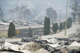 Current Wildfires In Canada by B C Wildfire Photos Images Show Devastation As Fires Ravage