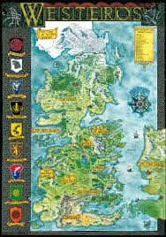 Ice And Fire Map The World Of Ice And Fire Klaradox