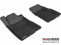mustang mats ford ford mustang floor mats set of 2 front black by 3d