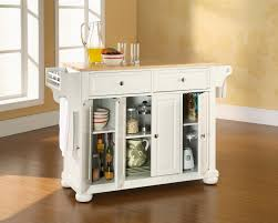White Island Kitchen 100 Circular Kitchen Island 100 Small Portable Kitchen