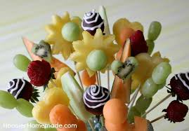 how to make fruit arrangements how to make a fruit bouquet hoosier