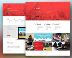 simple free web templates web templates psd at downloadfreepsd com creative personal website template free psd