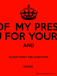 Keep Calm Generator Meme - the end of my presentation thank you for your attention and please