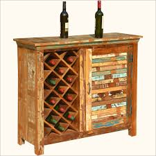 Distressed Wood Bar Cabinet Rustic Wine Cabinet Tedxumkc Decoration