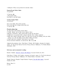 bariatric dietician cover letter clinical dietician cover letter
