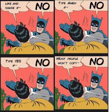Batman Slapping Robin Meme - no meme batman meme best of the funny meme