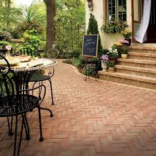 Best Patio Pavers Snap Together Patio Pavers Our Diy 45 Degree Herringbone Patio