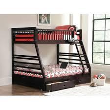 Full Over Full Bunk  Loft Beds Youll Love Wayfair - Full bed bunk bed