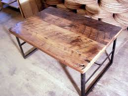 Coffee Table With Metal Base by Buy A Handmade Reclaimed Wormy Chestnut Coffee Table With