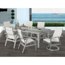 castelle trento sling dining set patiosusa com