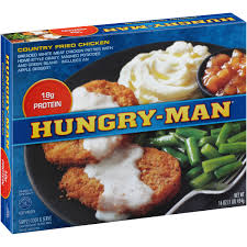 hungry man beer battered chicken 14 5 oz box walmart com