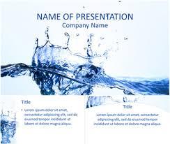 Water Powerpoint Templates by Water Splash Powerpoint Template Templateswise