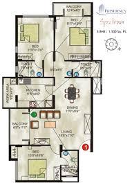 3 bhk single floor house plan u2013 meze blog