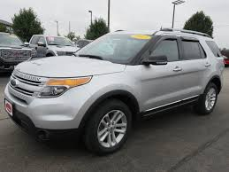 ford 2013 explorer 2013 used ford explorer xlt 4wd 18 alloys 4 tires 3rd row