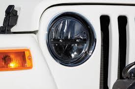 2012 jeep wrangler headlights truck lite s led headlight conversion for jeep wranglers jeep