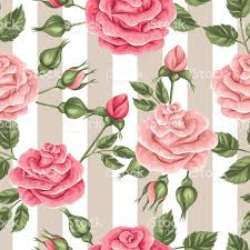 imagenes de rosas vintage excelente patrón con rosas vintage retro decorativa flores fácil a