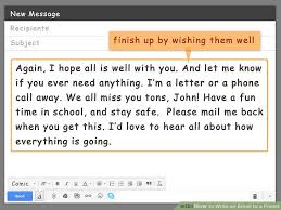What To Write In Email With Resume Attached How To Write An Email To A Friend With Pictures Wikihow