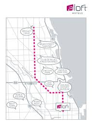 Lincoln Park Chicago Map by Hotels Near Wrigley Field Aloft Chicago City Center