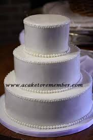 plain wedding cakes a cake to remember va simple yet wedding cake