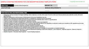 construction inspector resume breakupus scenic construction manager resume by elaine cameron