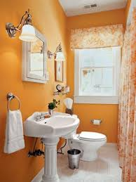 Small Bathroom Colors Ideas by Gorgeous 30 Orange And Brown Bathroom Decor Decorating Design Of