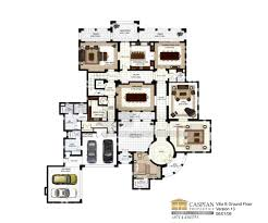 Villa Floor Plan by Arabian Ranches Polo Homes Floor Plans