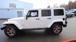 jeep white 2016 jeep wrangler unlimited sahara bright white clearcoat