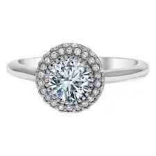 the bizz wedding band engagement ring halo diamond engagement or promise