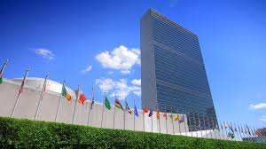 Flags Of Nations Nyc United Nations Building Headquarters In New York City And