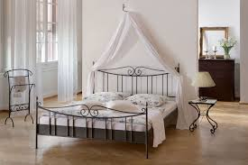 Decorative Metal Bed Frame Queen Bedroom Bedroom Furniture Canopy Poster Bed And Tufted Black