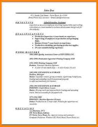 Example Administrative Assistant Resume by 4 Administrative Assistant Objective Sample Technician Resume
