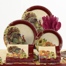 creative converting 73 regal turkey thanksgiving tableware
