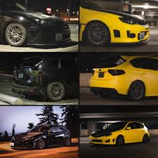 yellow subaru wrx took some before and after shots of my buddy u0027s vinyl wrap hi res