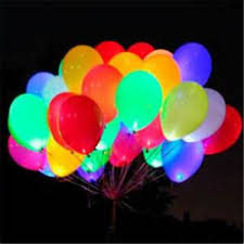 party balloons christmas party light up your party with 5 led party balloons