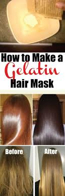 using gelatin for your hairstyles for women over 50 if you ve ever gotten a gelatin hair mask done at the salon you
