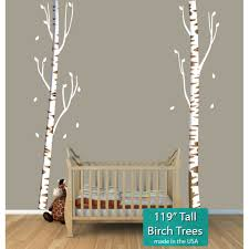 Tree Wall Decals For Nursery Stickers And Tree Wall Decals For Nursery Or Baby Room