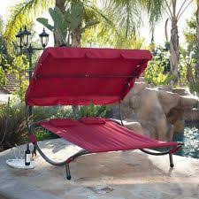 outdoor bed patio furniture swing canopy sun lounge lounger