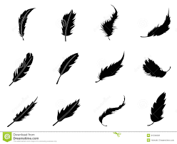 Stock Feather Flags Feather Icons Set Stock Vector Illustration Of Collection 31534032