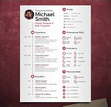 it cv template modern resume template cv template by