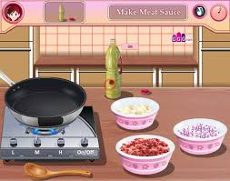 girlsgogames cuisine lasagna s cooking class a free for on