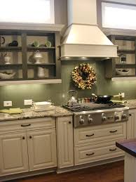 beadboard backsplash in a high gloss paint either white or green