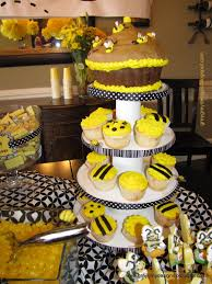 halloween gender reveal party ideas parties yellow black white and bees design dazzle