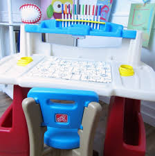 step 2 deluxe art desk step2 deluxe art master activity desk and chair childrens best in