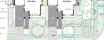 multi unit floor plans multi unit landscape design melbourne townhouse planning permit